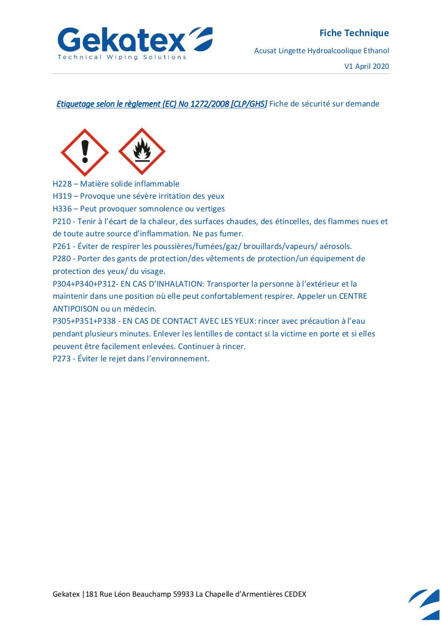 FT - WS00003557 - Acusat HydroEthanol.pdf - page 2/3